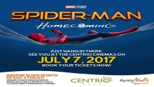 spider-man Home Coming at Centrio