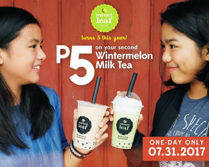 Sweet Leaf Bubble Tea 5th Anniversary Promo.jpg