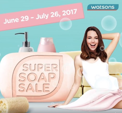 watsons #SuperSoapSale
