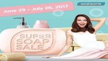 Watsons #SuperSoapSale