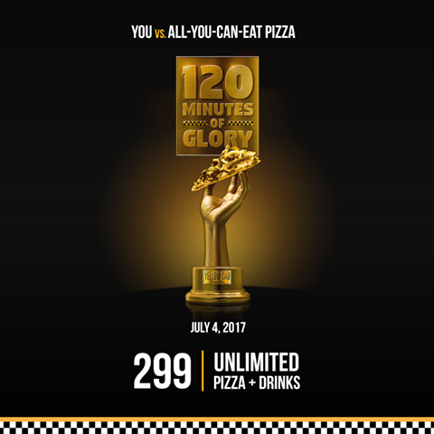 yellow Cab unlimited Pizza