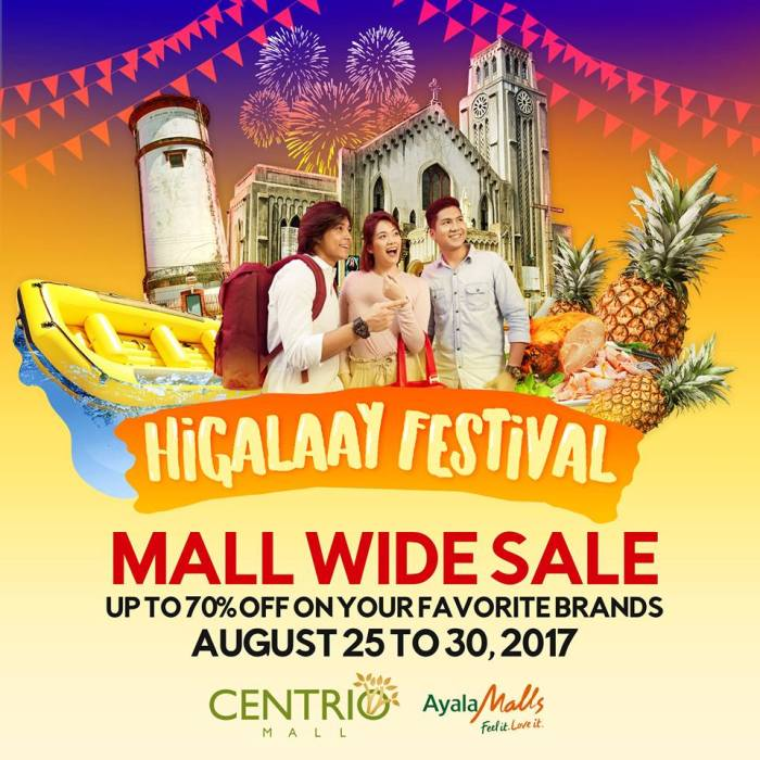 centrio Higalaay festival mall wide Sale