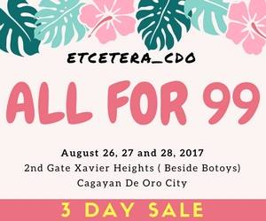 Etcetera CDO Fiesta Sale