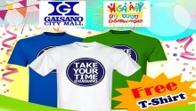 Gaisano Free Take your time Tshirt