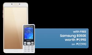 Galaxy c9 pro with FREE B350E