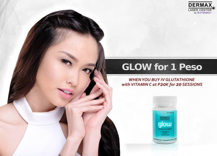 Glow for 1 Peso
