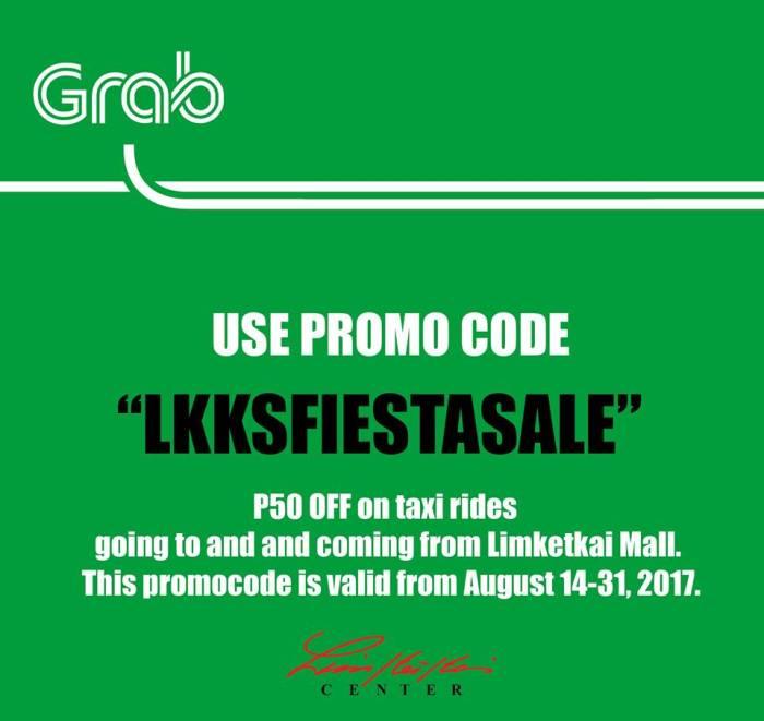 Grab Taxi Limketkai Fiesta Sale