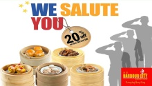 Harbour City we salute you promo