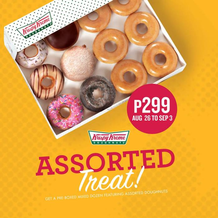 Krispy Kreme Assorted Treat
