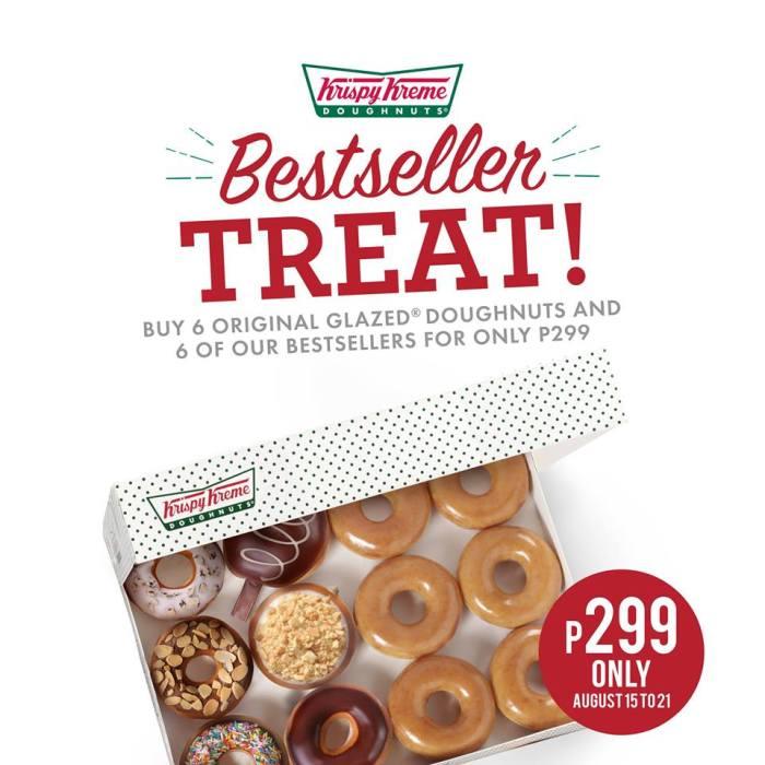 Krispy Kreme Bestseller Treat