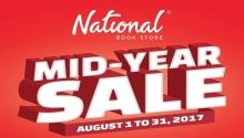 National Book Store mid year Sale