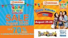 ororama higalaay sale and videoke challenge