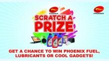 Phoenix Petroleum Scratch a Prize promo
