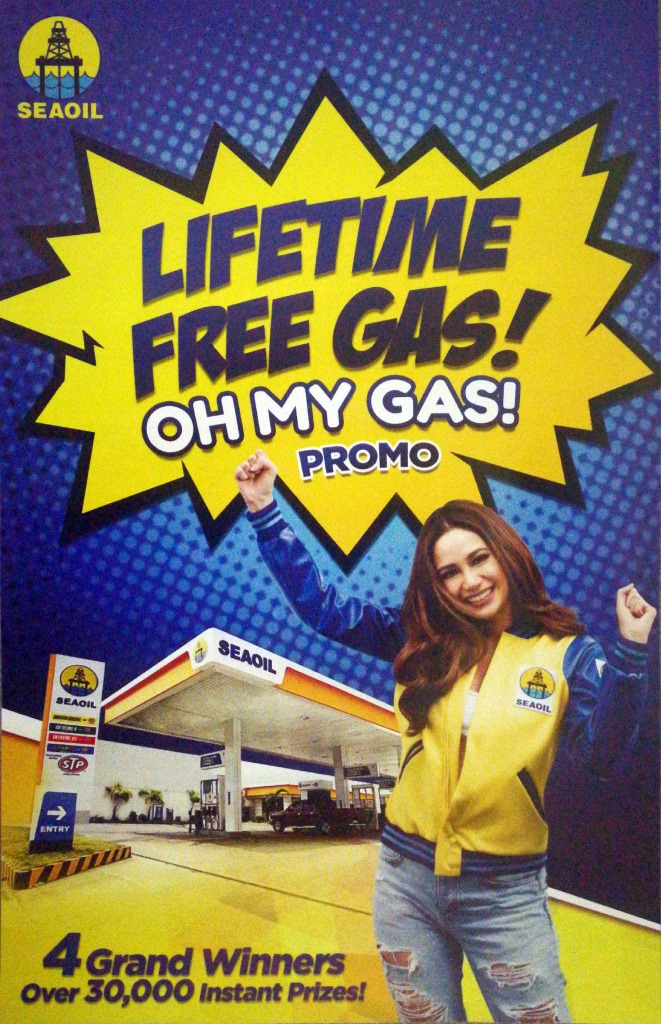 Seaoil Lifetime Free Gas Oh My Gas Promo