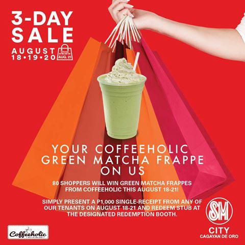 SM 3 day sale 80 Green Matcha Frappes