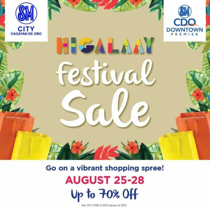 SM City Higalaay Sale sq