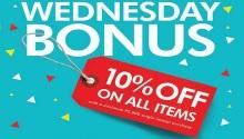The SM Store Wednesday Bonus