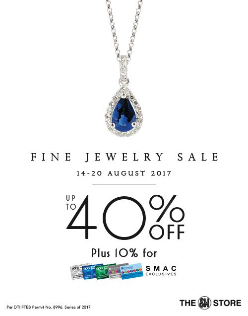 SM Store fine jewelry sale