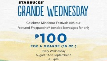 starbucks grande wednesday mindanao