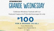 starbucks grande wednesday mindanao