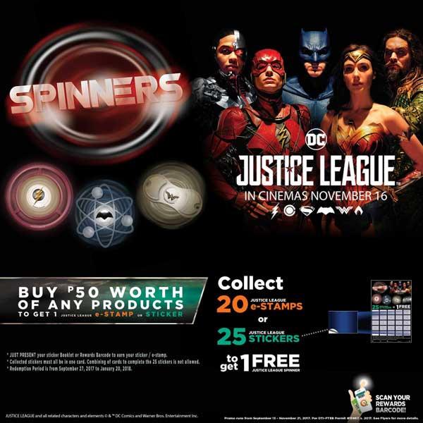 7-11 Justice League Premium Promo