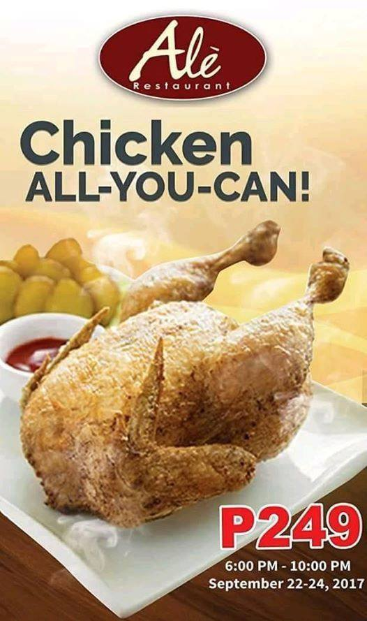 Ale Chicken All U Can