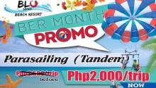 blu sands ber month promo