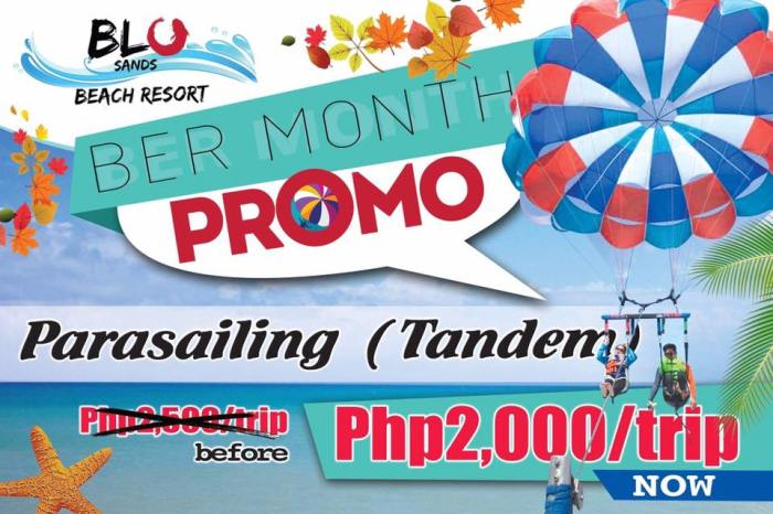 Bu Sands BER Month Promo