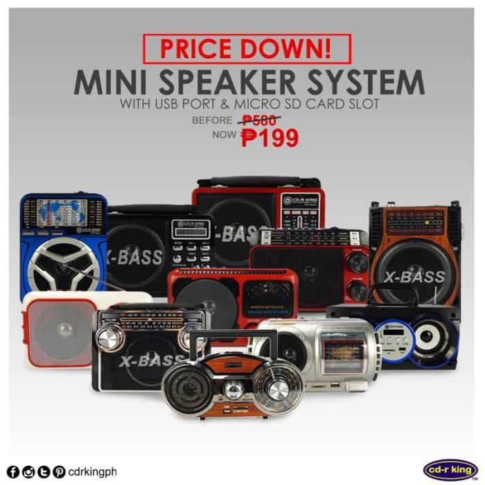 CDrking mini speaker