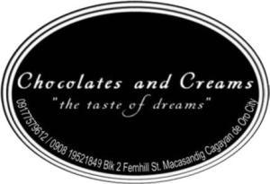 chocolates and Creams logo