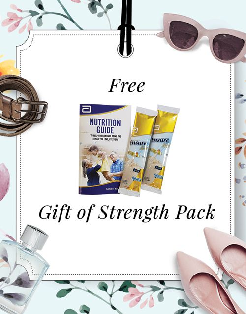 free gift of strength pack
