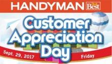 HandyMan customer Appreciation Day