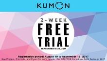 kumon 2 week free trial featured