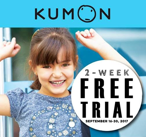 kumon 2 week free trial header
