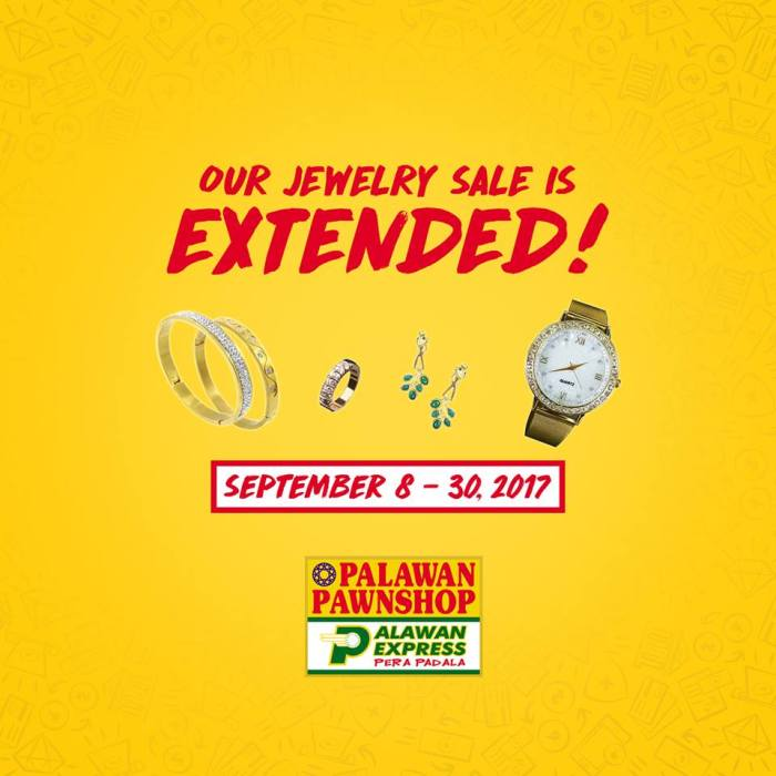 Palawan Jewelry Sale extended