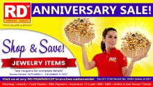 RD pawnshop anniversary sale featured image