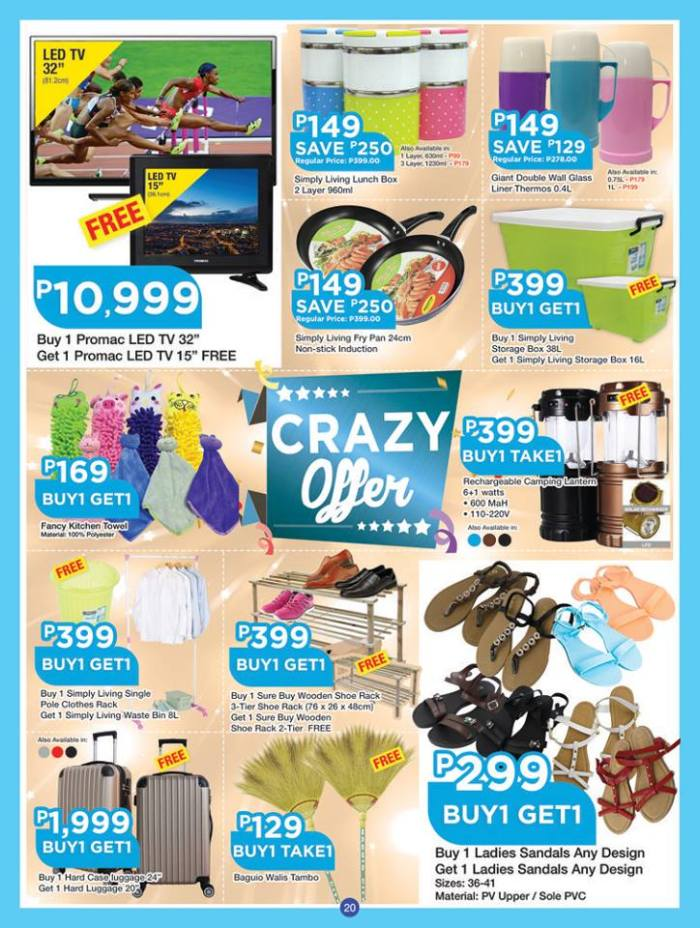 shopwise b19time crazy offer