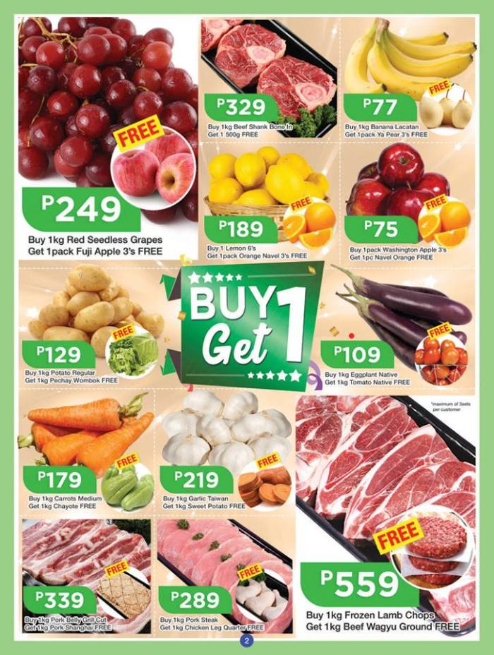 shopwise b19time buy 1 get 1 meat