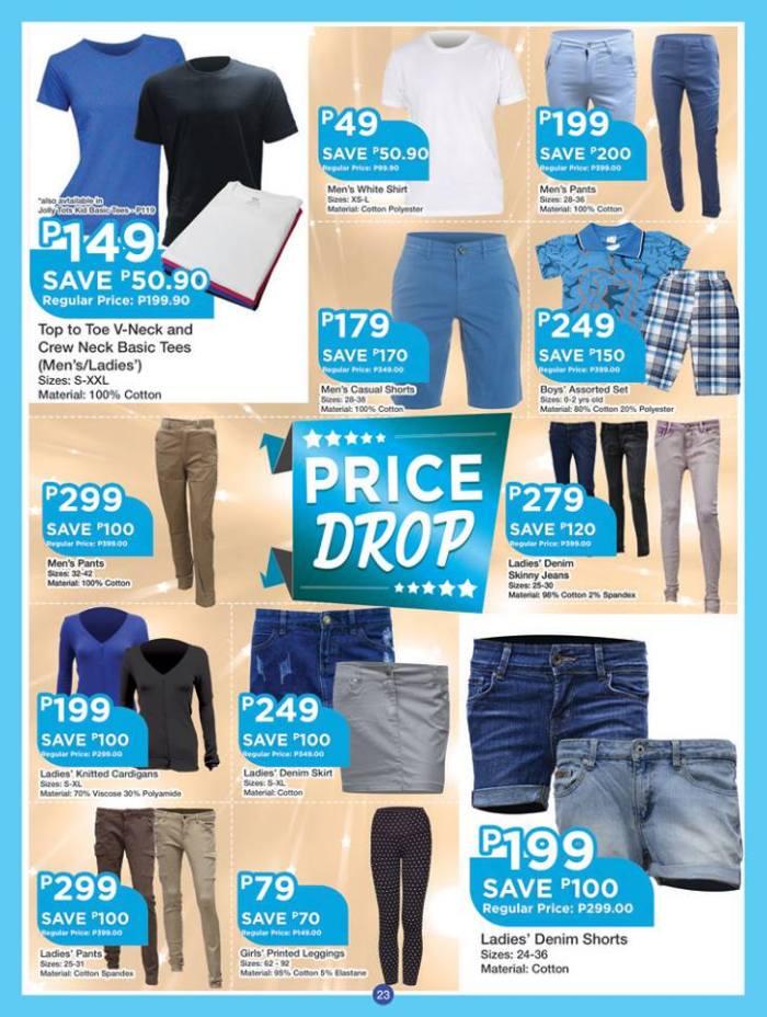 shopwise b19time price drop clothing