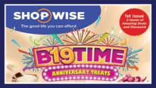 shopwise B19 time