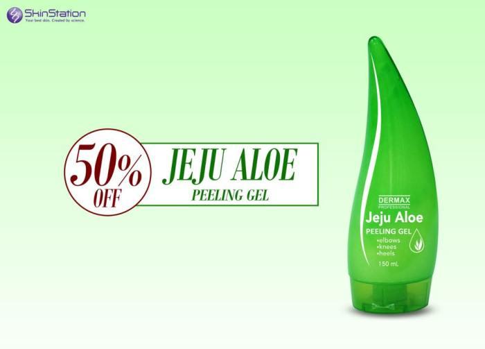 skinstation Jeju Aloe Peeling Gel