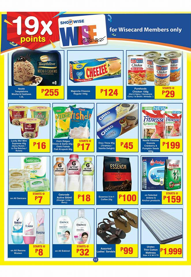 shopwise b19 time 2nd issue 19x points