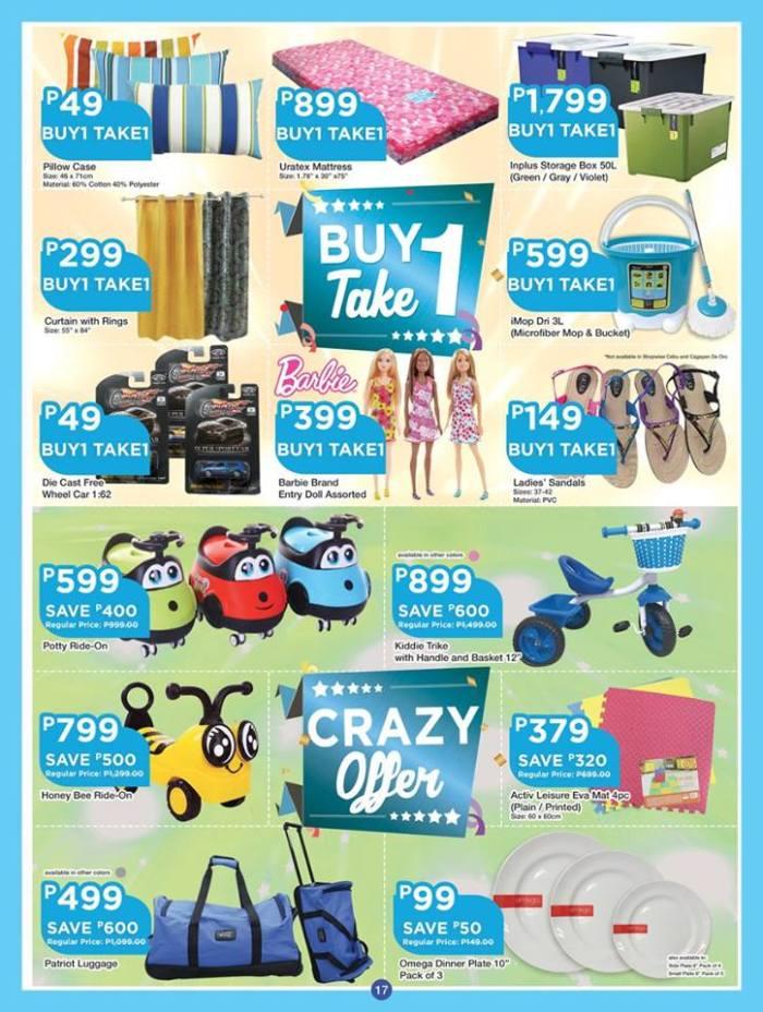 shopwise b19 anniversary treats 3rd issue set17 buy 1 take 1