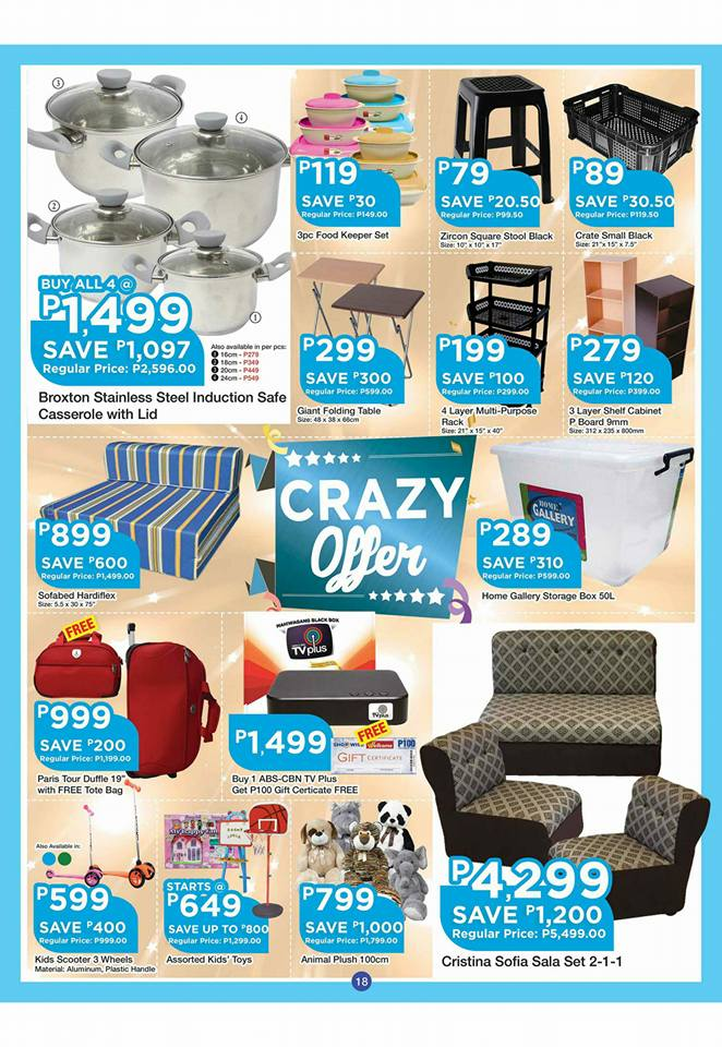 shopwise b19 time 2nd issue crazy offer set 2
