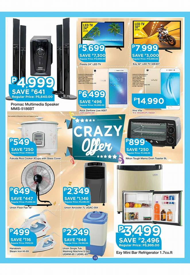 shopwise b19 time 2nd issue crazy offer appliances
