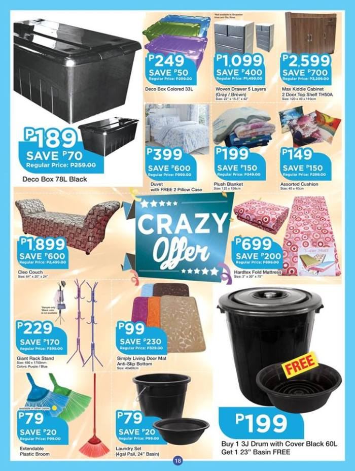 shopwise b19 anniversary treats 3rd issue set18 crazy offer