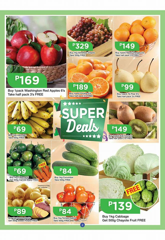 shopwise b19 time 2nd issue fruits veges