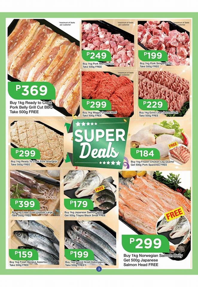 shopwise b19 time 2nd issue meat and fish