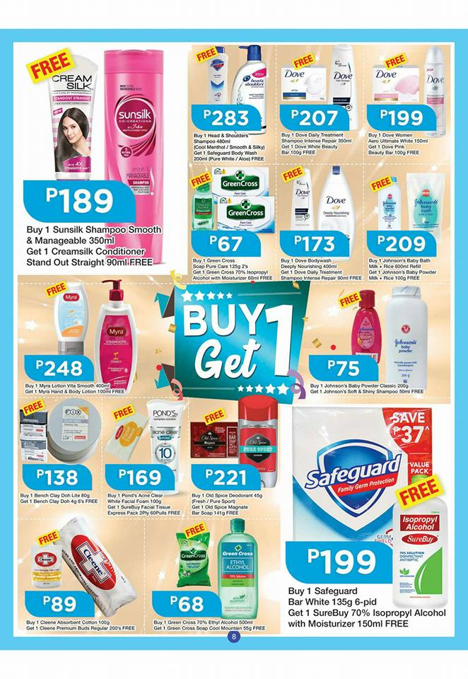 shopwise b19 time 2nd issue buy 1 get 1 hygiene