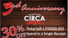 Circa anniversary promo FI